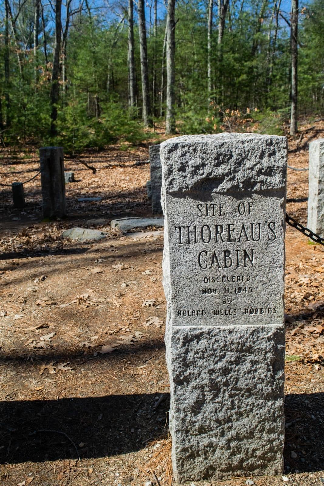 Site of Thoreau Cabin